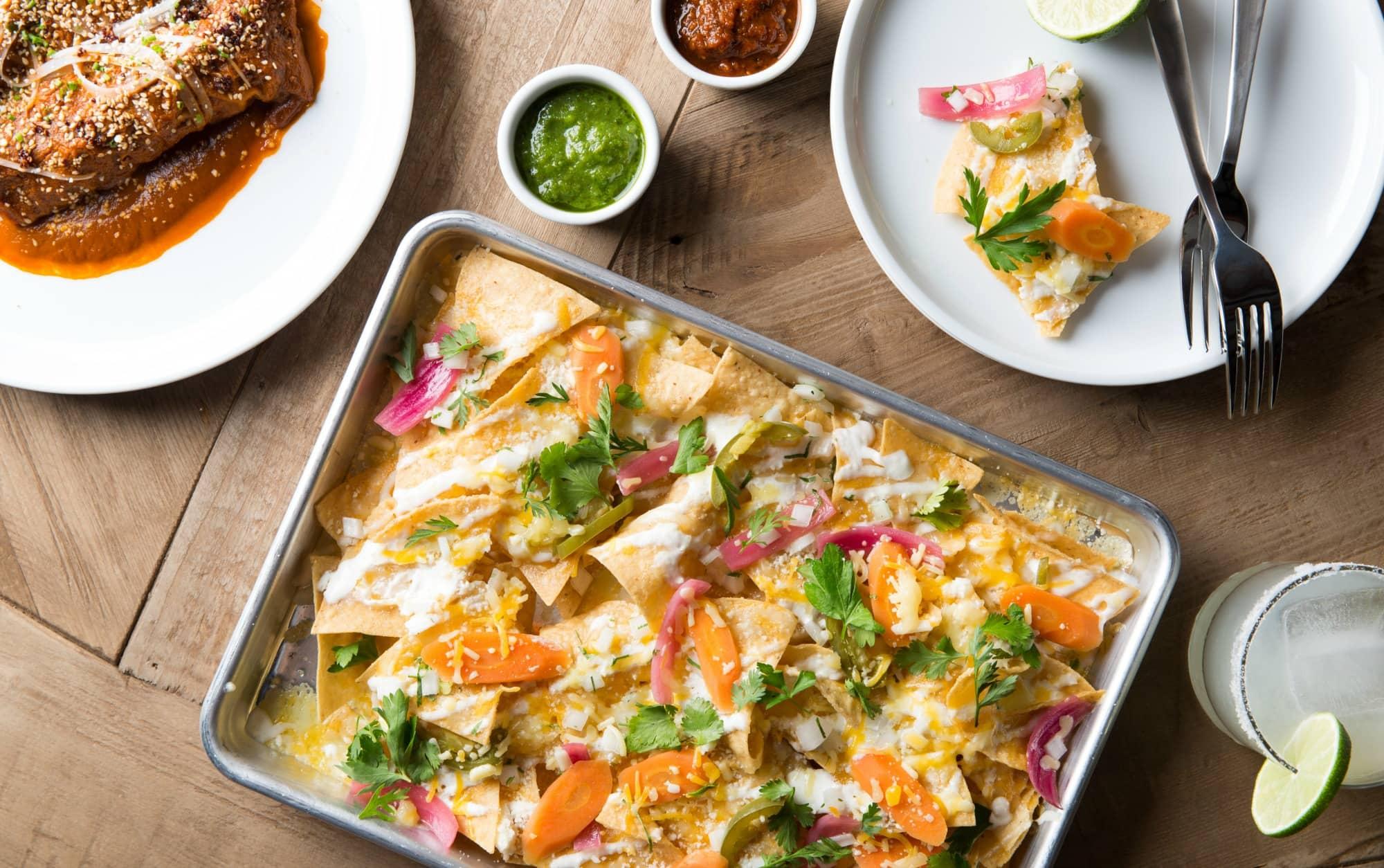 Tallula's_Turkey Enchiladas & Nachos Sencillo_Photo Credit Rick Poon