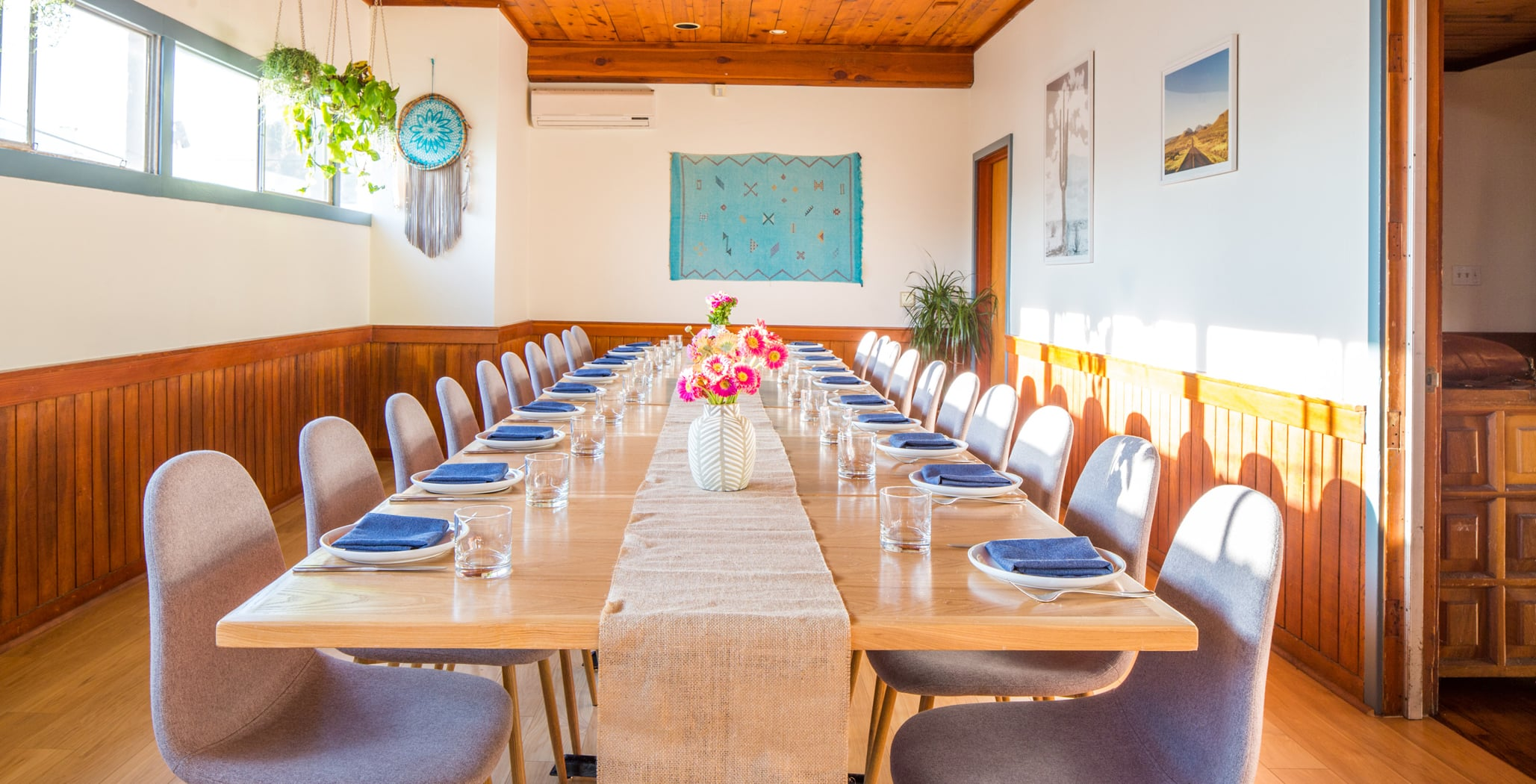 Tallula's private dining room