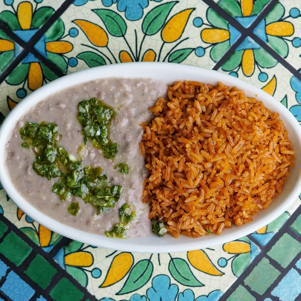Half Rice, Half Beans