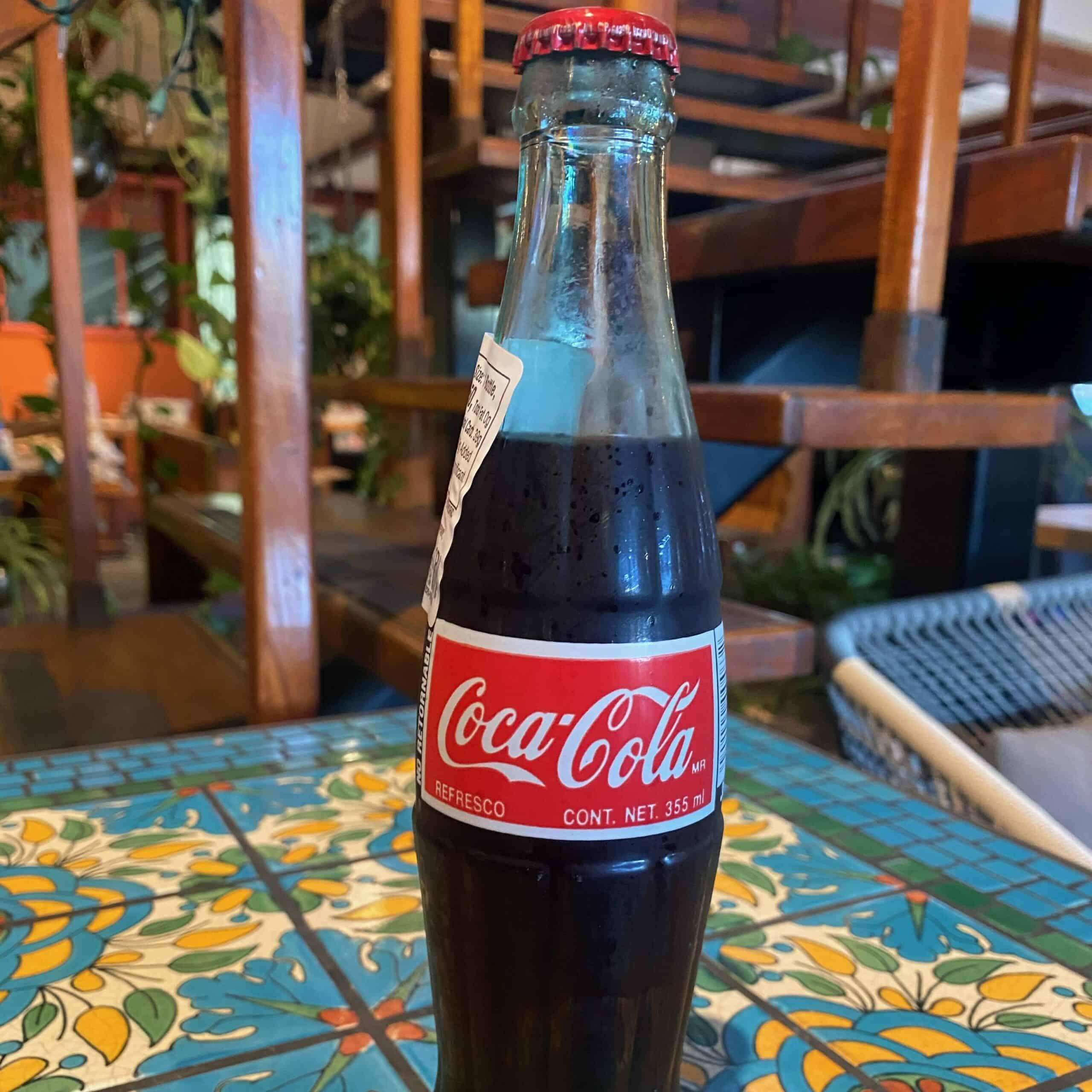 Bottled Mexican Coke