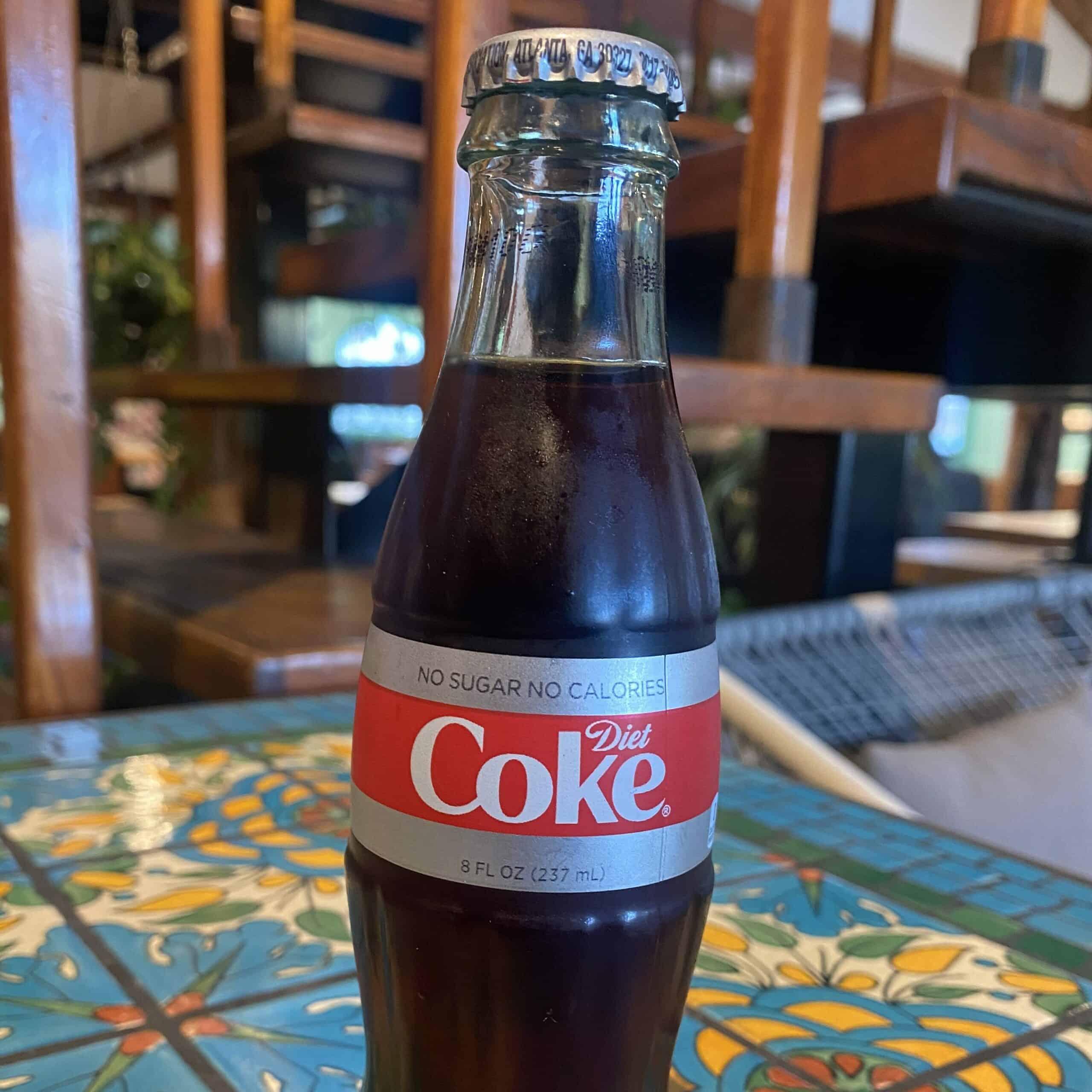 Bottled Diet Coke