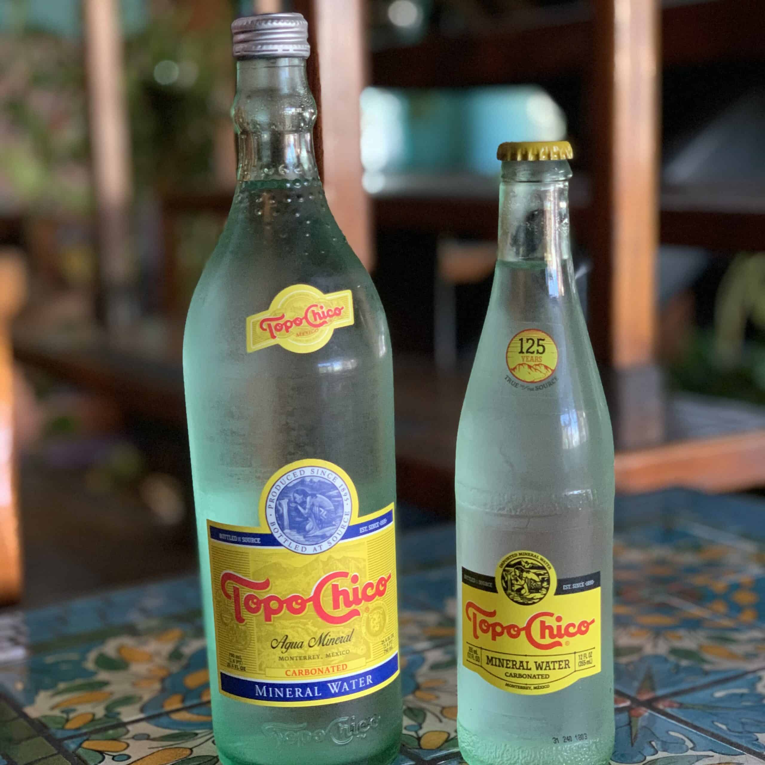 Bottled Topo Chico Sparkling Water