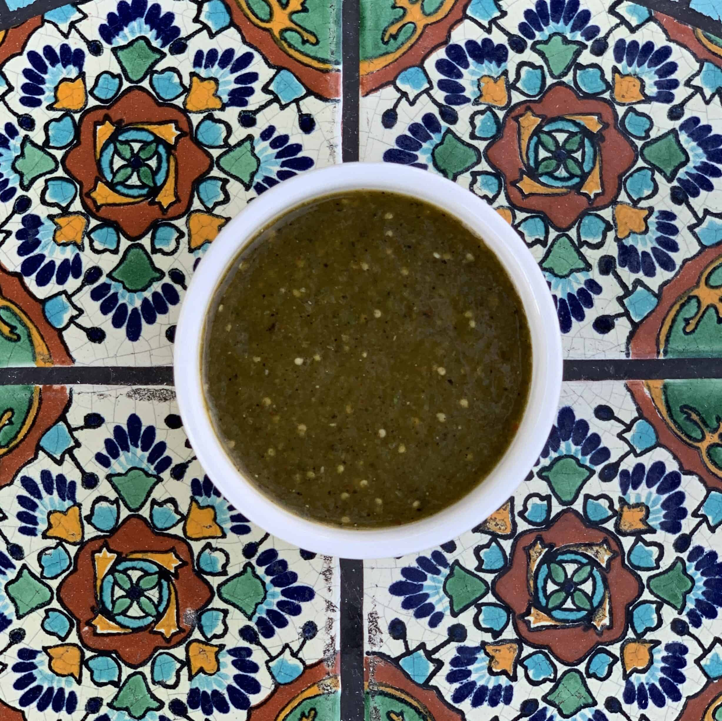 Housemade Spicy Green Salsa