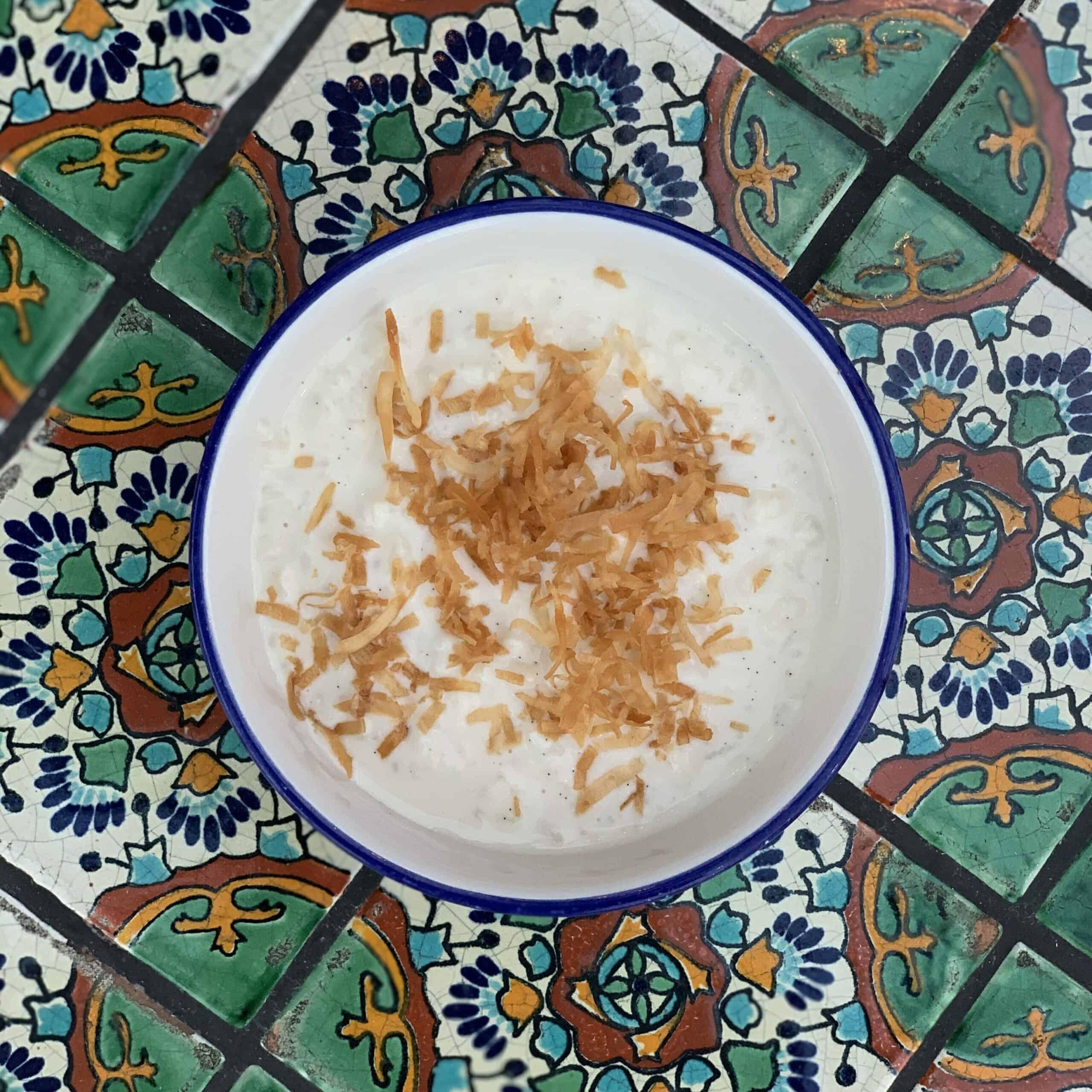 Organic Rice Pudding