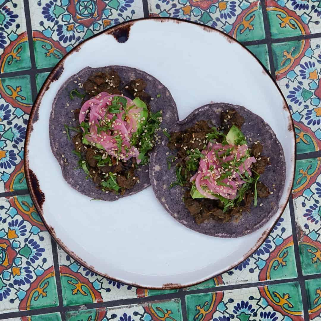 Grass-Fed Carne Asada Taco Plate