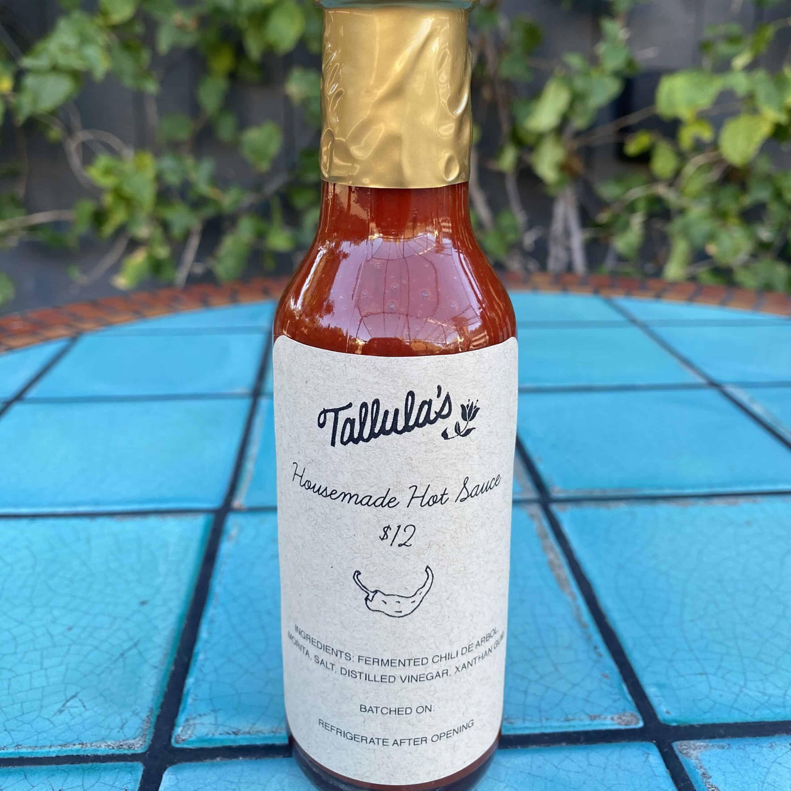 Tallula's Hot Sauce Bottle