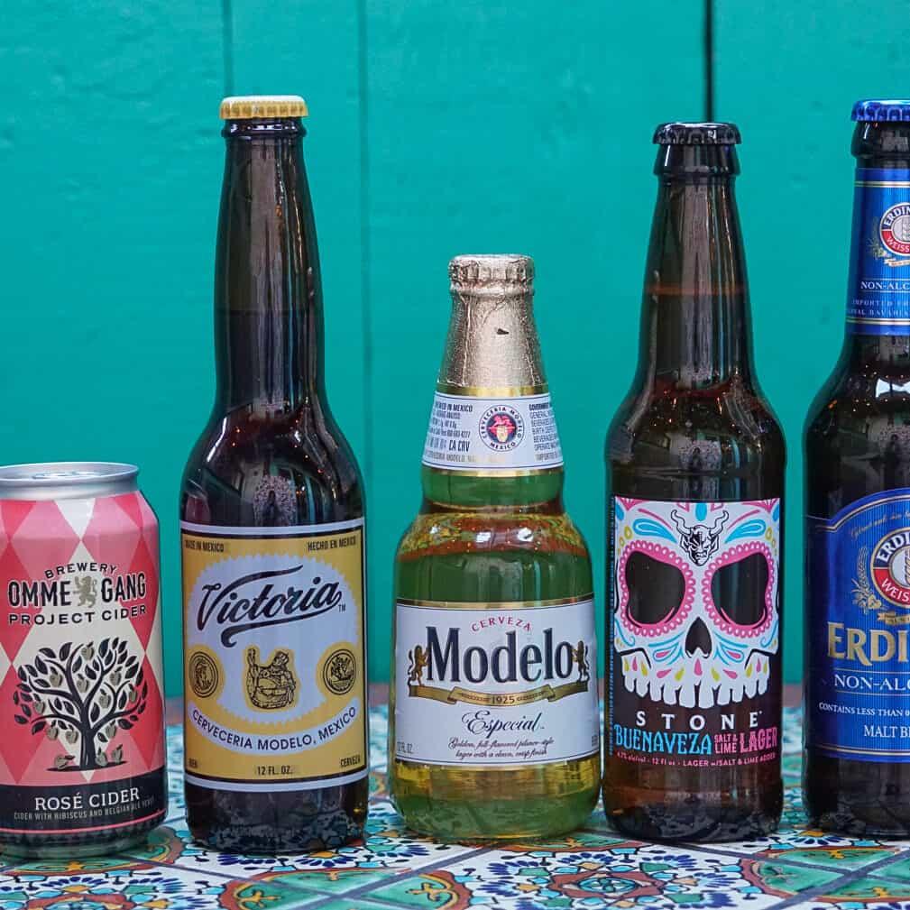 Assorted Beer Bottles & Cans