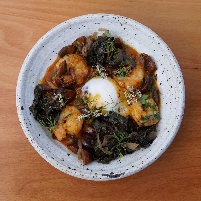 Shrimp & Masa Polenta