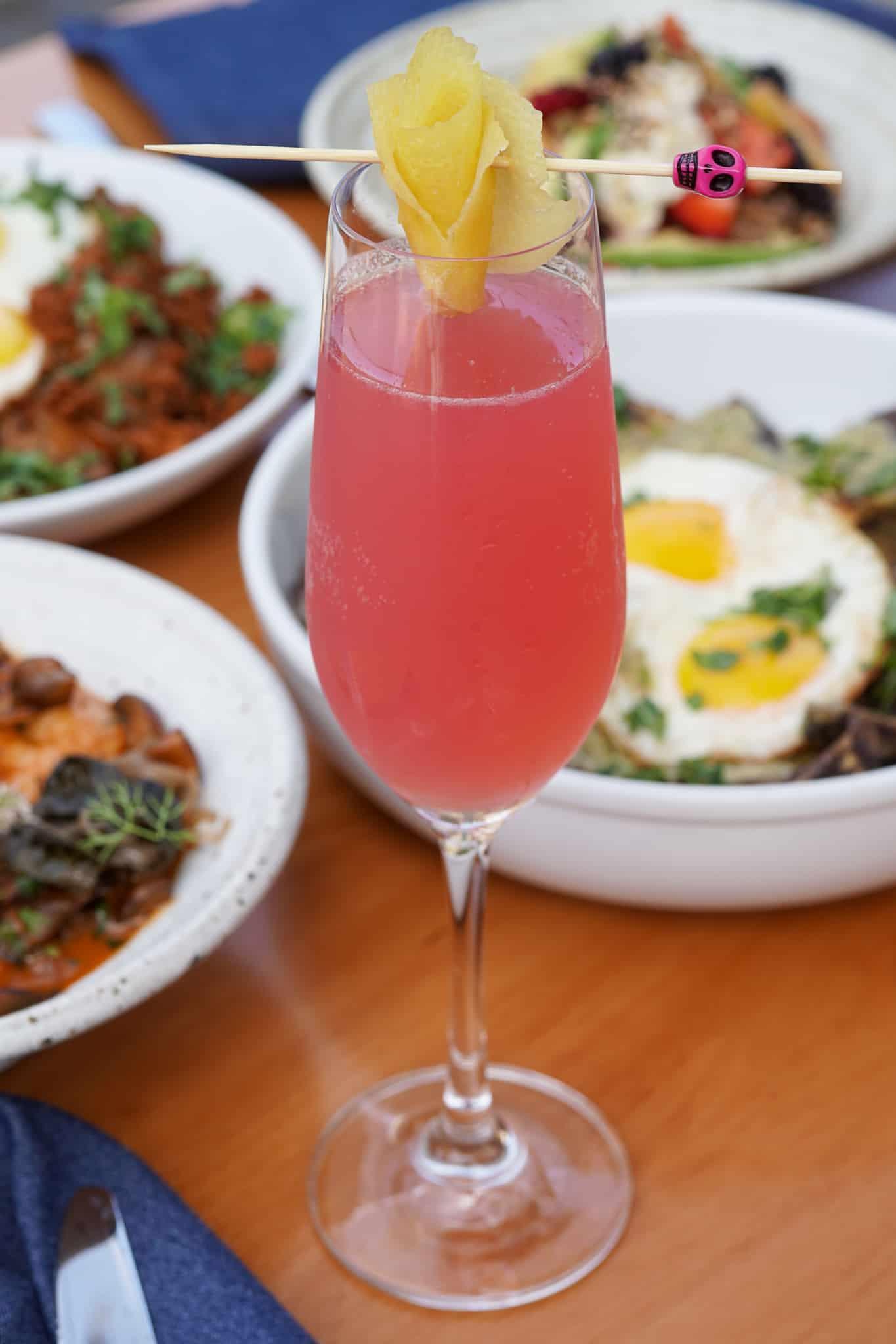 Bubbles & Blooms Brunch Cocktail